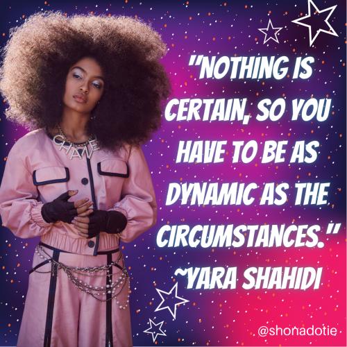 yara shahidi quote